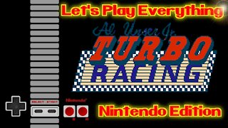 Let's Play Everything: Al Unser Jr. Turbo Racing