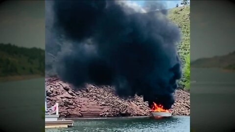6 injured in boat explosion, fire on Horsetooth Reservoir