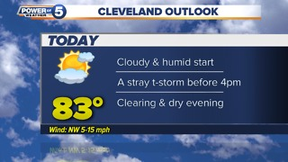 Cleveland Wednesday morning weather