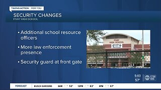 New security changes at Fivay High School after fights