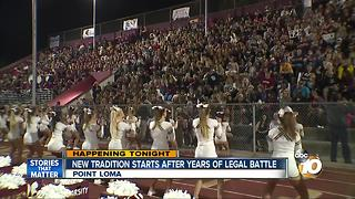 New tradition starts after years of legal battle - Video