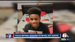 Teen shot in head at birthday party will not survive his injuries - Video