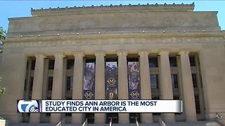 Ann Arbor named most educated city in America - Video
