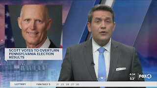 Scott votes to overturn election results