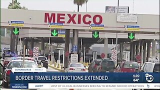 businesses along the border fear another month of travel restrictions will shut them down