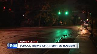 Lakewood High School Student targeted during armed robbery while walking to school - Video