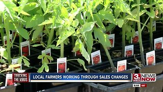 Local farmers working through sales changes