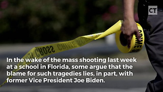 How Joe Biden Turned Our Schools Into Shooting Galleries - Video