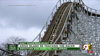 Kings Island re-tracking the beloved Racer