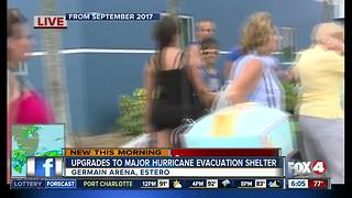 Changes coming to major hurricane evacuation shelter in Lee County