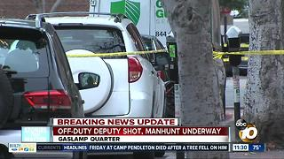 Manhunt ongoing in Gaslamp Quarter shooting - Video