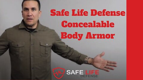 Safe Life Defense Concealable Body Armor, Save 10% with Discount Code AK10