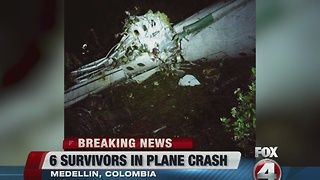 76 dead after plane carrying soccer team from Brazil crashes in Colombia - Video