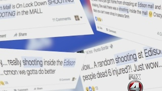 Social media fear factor, Edison Mall - Video