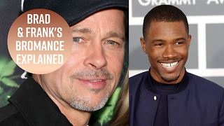 Frank Ocean serenades Brad Pitt on stage - Video