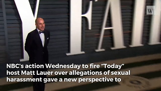 Matt Lauer, Anne Hathaway Video Looks Super Creepy Now That We Know the Truth - Video
