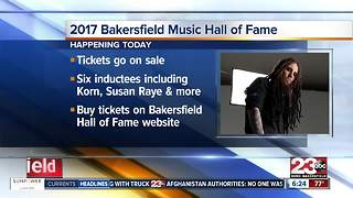 Tickets go on sale for Bakersfiels Music Hall of Fame - Video