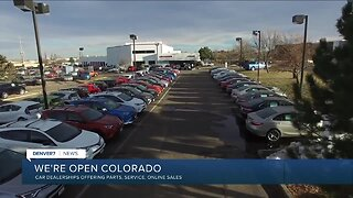 Car dealerships offering service, parts and online sales