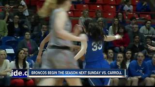 BSU Women's Basketball ready to start the season - Video