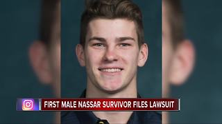 Alleged 1st male victim of Dr. Larry Nassar files lawsuit - Video