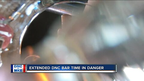 Plan to keep bars open until 4:00 a.m. during DNC in jeopardy
