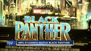 MPS students learn a lesson from Black Panther - Video