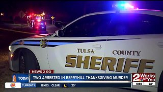 Two arrested in Berryhill Thanksgiving murder
