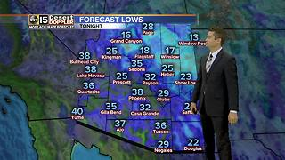 Chilly day ahead for Phoenix area - Video