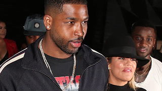 Khloe Kardashian & Tristan Thompson's 1st DATE Night Post Cheating Scandal! - Video
