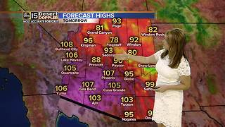 Warm and dry start to the week in the Valley - Video