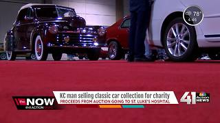 KC man selling classic car collection for charity