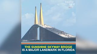 Sunshine Skyway Bridge serves as Tampa Bay icon - Video