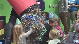 Kids Celebrate New Year's Eve in Appleton - Video
