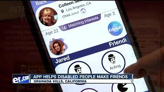 App helps those with special needs make friends - Video