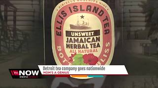 Mom's a Genius update: Detroit tea company goes nationwide - Video
