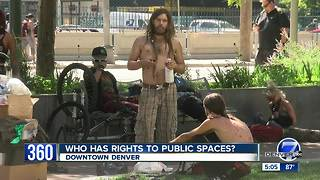 Who has rights to public space in downtown Denver? - Video