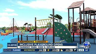 Carmody Park opens in Denver - Video