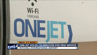 One-Jet holds celebration for new service in Milwaukee - Video
