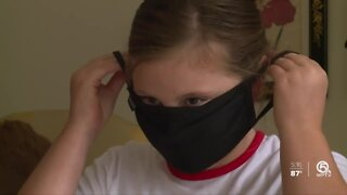Therapist says it's important to talk to kids about wearing masks