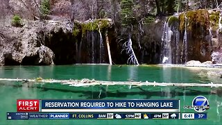 Hanging Lake reservations now in effect