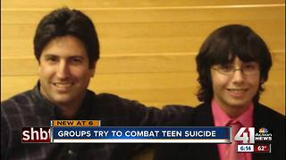 Group 'Speak Up' tries to combat teen suicide - Video