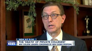 More trouble for New York's private colleges? - Video