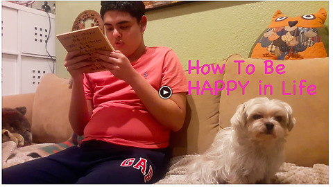 Affirmation 00 How to be Happy in Life by Darian, the kid with Autism