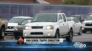 Major traffic issues continue at Tucson schools despite changes