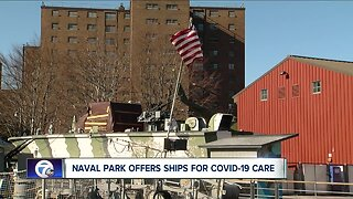 U.S.S. Little Rock offered as COVID-19 care facility