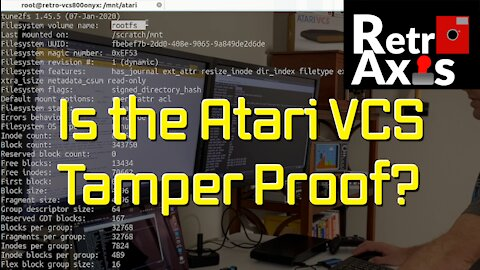 Atari VCS Tamper Proof features explained - What is Verity? What Happens if you write to the rootfs?