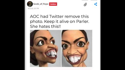 AOC Need To Be In A Bar Not The White House!!!
