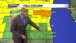 Cooler temperatures Friday - Video