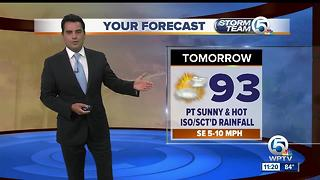 South Florida weather 7/24/17 - 11pm report - Video