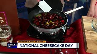 The Cheesecake Factory celebrates National Cheesecake Day - Video